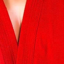 Самбовка красная Mizuno, куртка+шорты 550г, рост 140см, фото 3