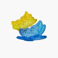 Набір метеликів з ізомальт - Жовта і блакитна