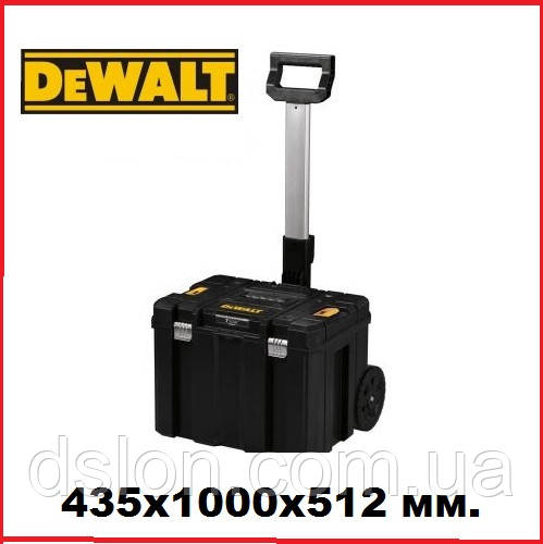Ящик-тележка DeWALT DWST1-75799, размер: 435x1000x512 мм.