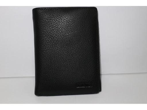 Кошелек Balisa MNBWB1-2601 мужской кожаный черный