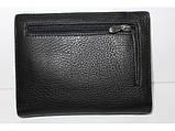 Кошелек Balisa MNBWB1-2601 мужской кожаный черный, фото 2
