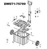 Ящик-тележка DeWALT DWST1-75799, размер: 435x1000x512 мм., фото 6