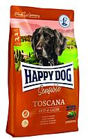 Happy Dog Toscana 12,5кг корм для собак (утка, лосось)