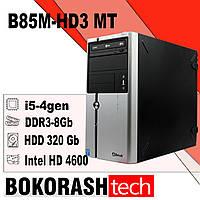 Системный блок B85M-HD3 MT ( i5-4gen / RAM8Gb DDR3 /  320gbHDD) (к.00101091), фото 1