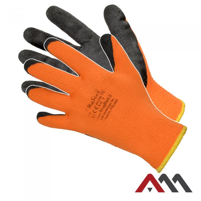 Перчатки защитные Artmas Rdrag Black O(300) kat.1, оранжевый/черный, 9