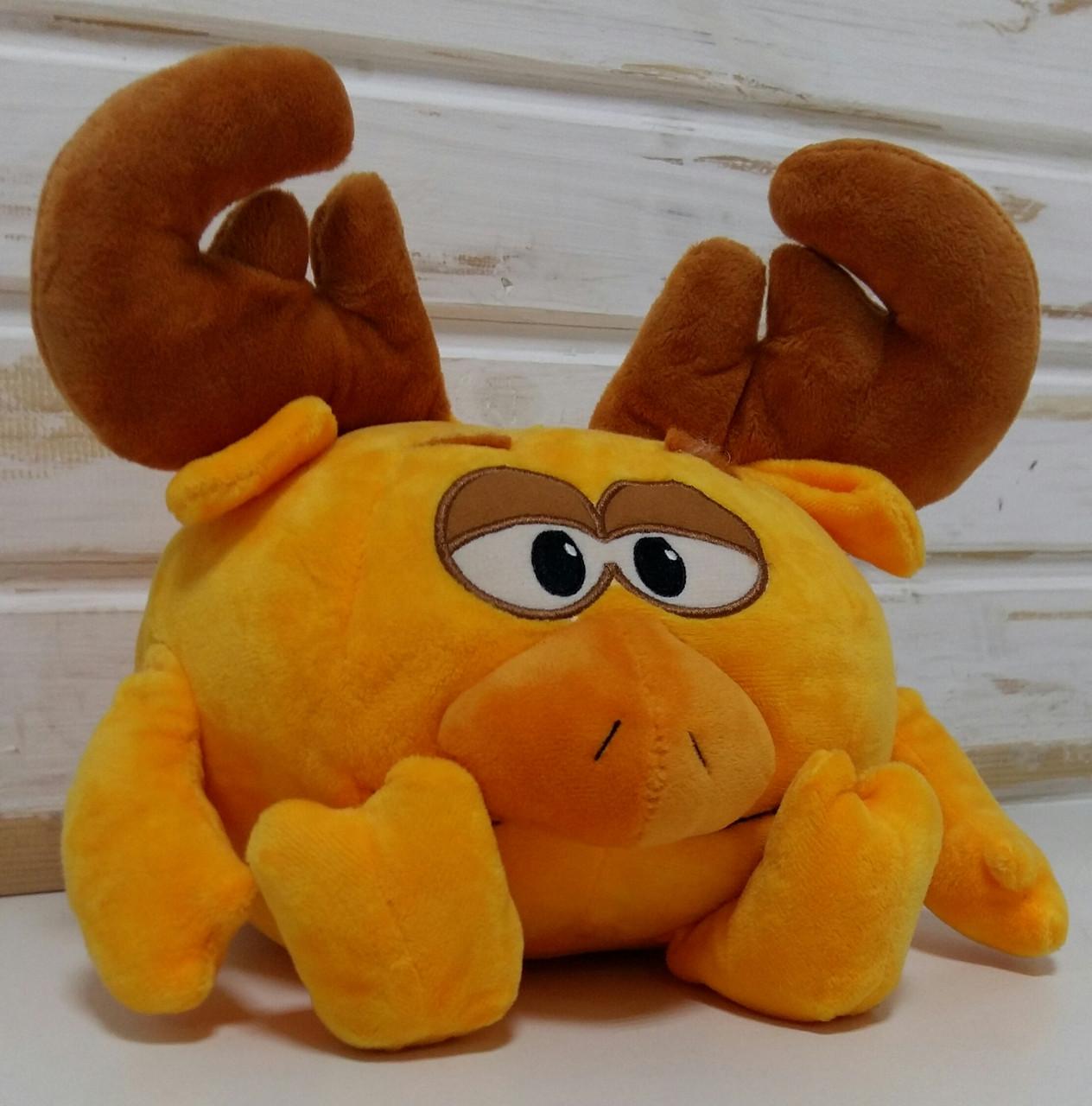 Мягкая игрушка в виде смешного Лося М 00238-3 Кроха Олень