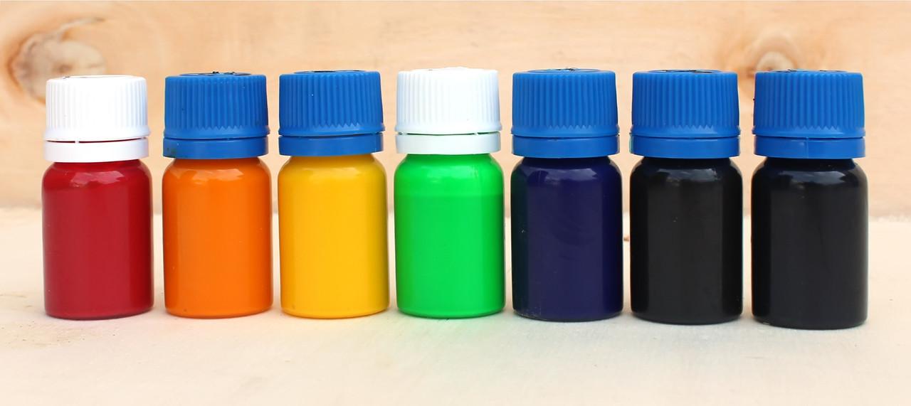Чорний барвник для пластику, силікону, епоксидної смоли, поліуретанів, універсальний (15 г)