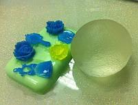 Полупрозрачная эпоксидная смола двухкомпонентная Crystal 1 кг, фото 3