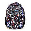 Рюкзак школьный ортопедический для девочки Dolly 591 Черный