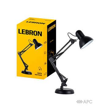 Настольная лампа Lebron L-TL-Tel  телескопическая черная
