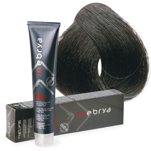 Крем-краска для волос Inebrya Color 3/0 - темный каштан