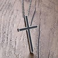 """Кулон """"Крест"""" из нержавеющей стали, фото 1"""
