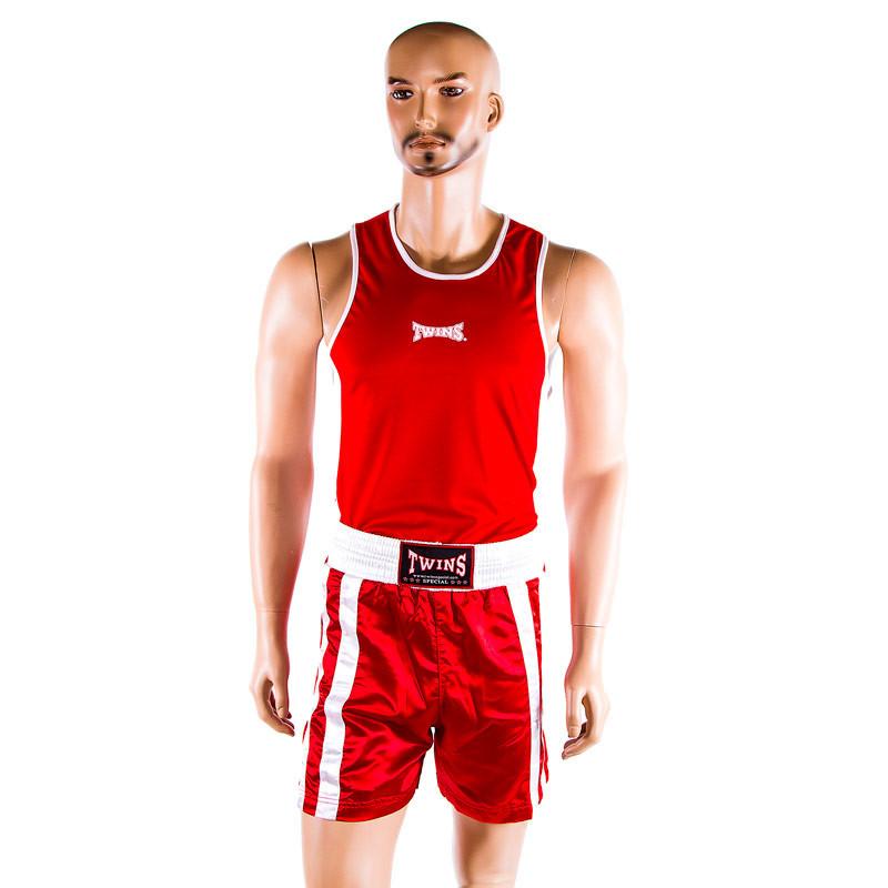 Форма для бокса красная Twins р. XS