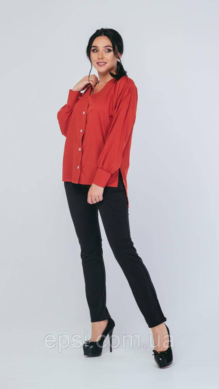 Блузка Alpama SO-78227-RED Красный 52