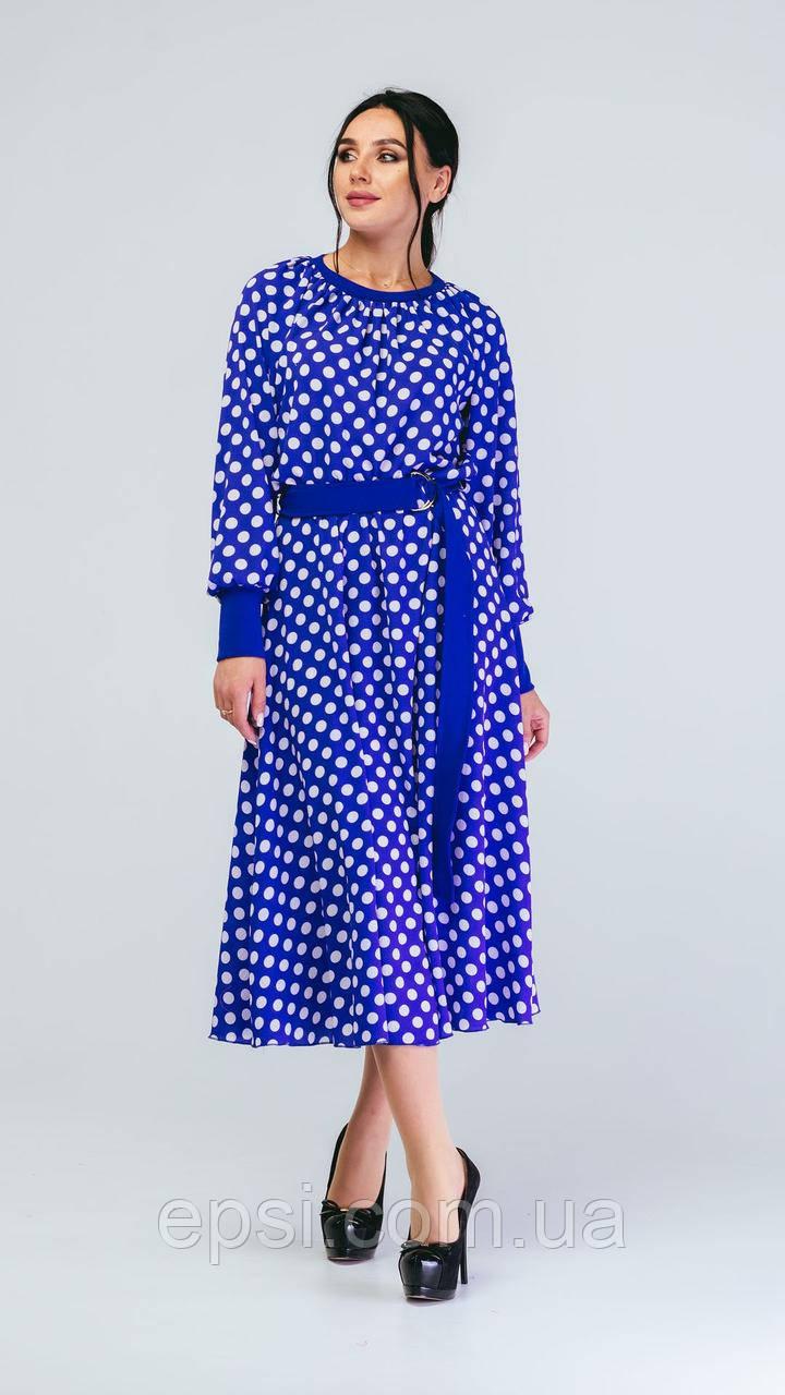 Платье Alpama SO-78238-ELB Электрик 52