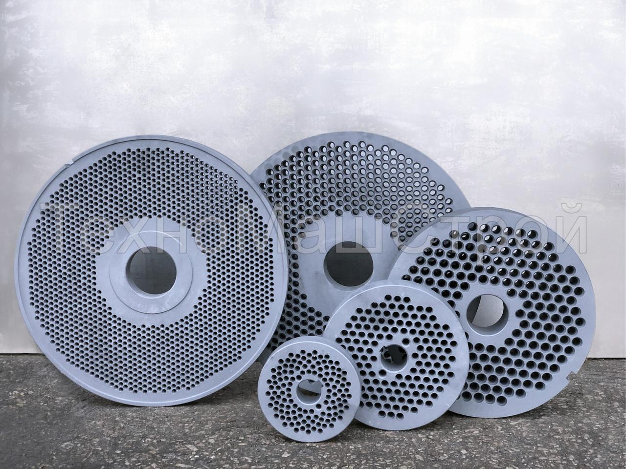 Матрицы 150 мм для грануляторов