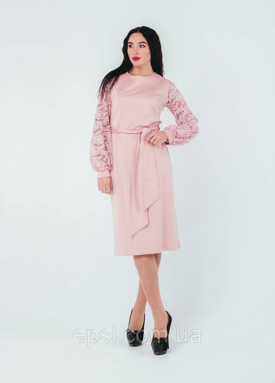 Платье Alpama SO-78250-PNK Розовый 52