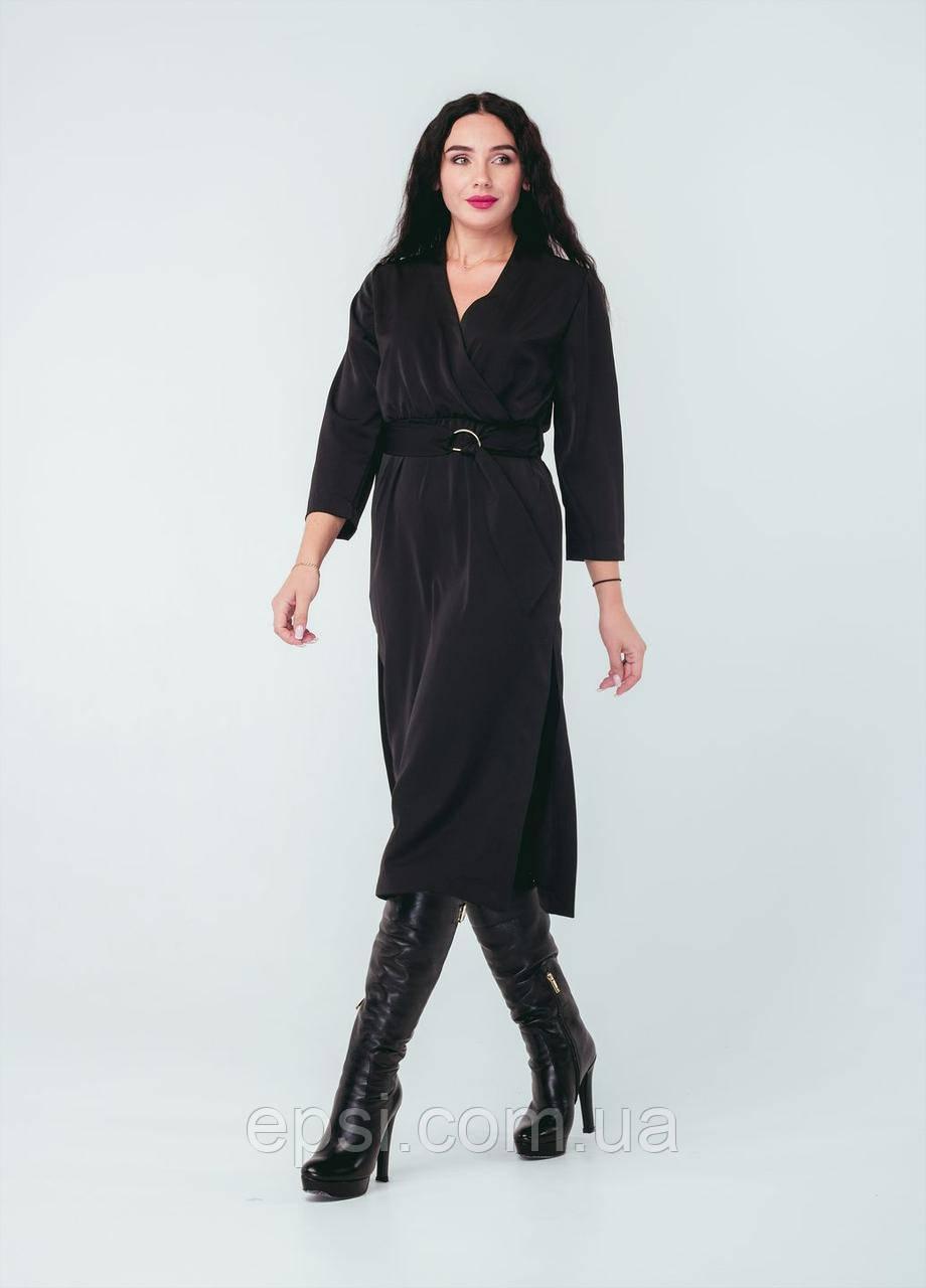 Платье Alpama SO-78259-BLK Черный 50