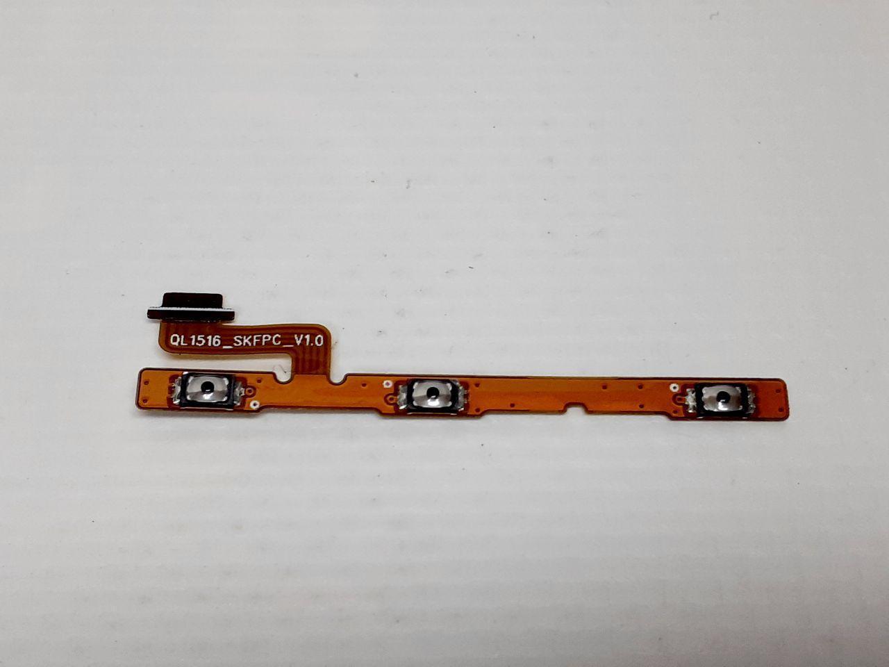 Шлейф кнопок Asus ZenFone 4 Max Pro ZC554KL оригинал ,сервисный