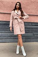 Стильное зимнее утепленное пальто Вива 8243, фото 1