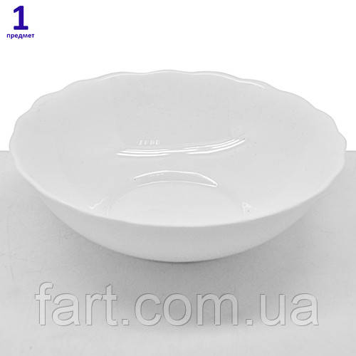 "Сервиз столовый стеклокерамика ""Bianco"" 19пр (тар.6*7""/6*9"", сал.6*7""/1*9.5"")"
