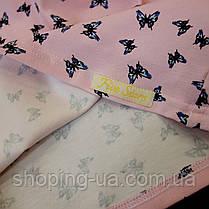 Стильная водолазка - гольф бабочки на розовом Five Stars KD0398-116р, фото 3