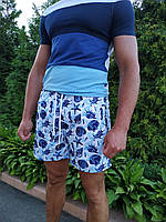 Летние пляжные шорты. Морская тематика. Размеры: M XL