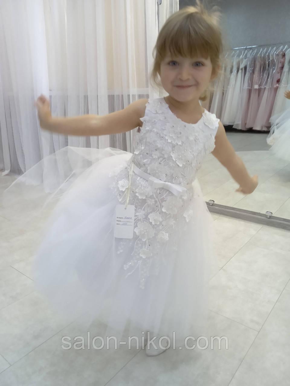 Детское нарядное платье № 2007