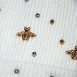 Колпак   бусины, пчелки, фото 2