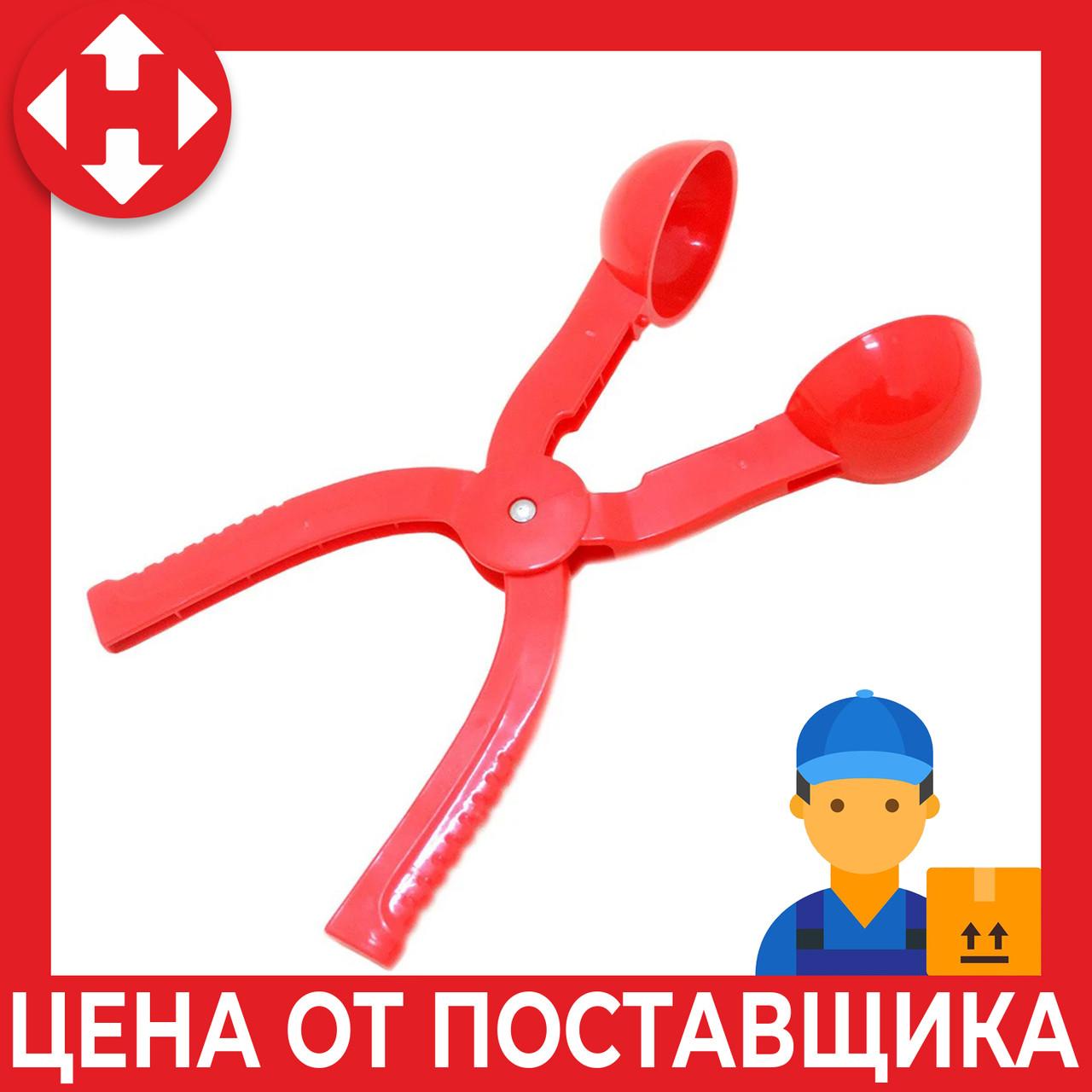 Распродажа! Щипцы для снежков, снежколеп, цвет - Красный, сніжколіп (доставка по Украине)