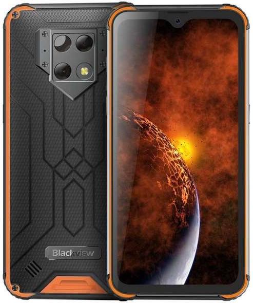 Защищенный телефон  Blackview BV9800 orange противоударный водонепроницаемый смартфон