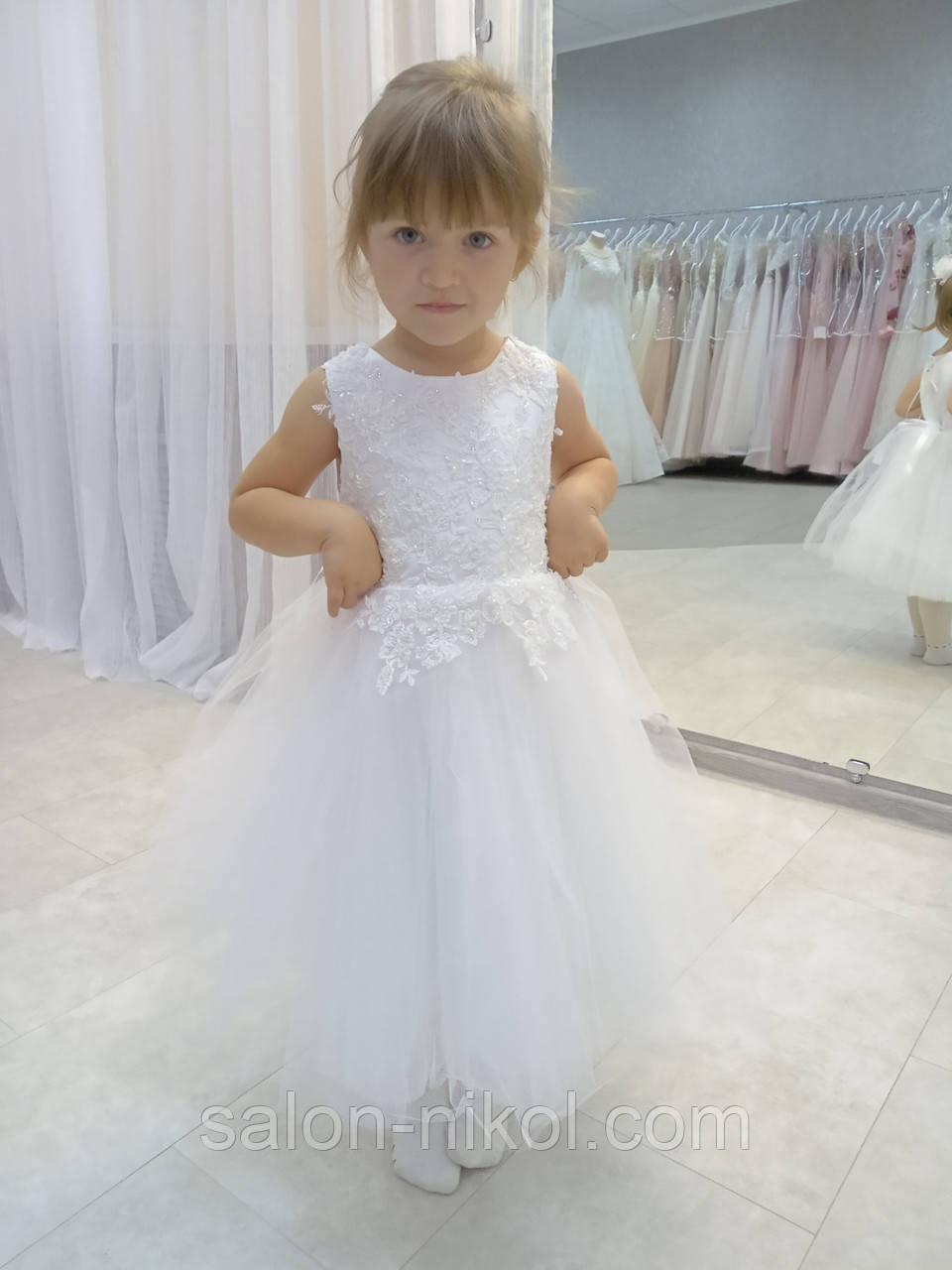 Детское нарядное платье № 2010