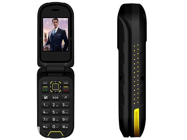 Кнопочный телефон раскладушка IOutdoor F2 black раскладушка красивый мобильный телефон