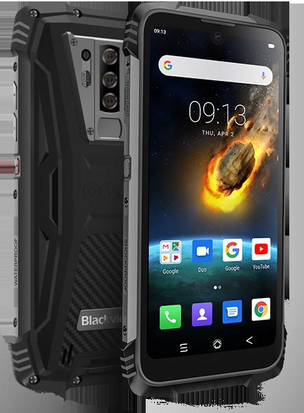 Защищенный телефон  Blackview BV6900 black противоударный водонепроницаемый смартфон