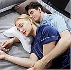 Подушка ТОННЕЛЬ для шеи из пены с эффектом памяти изогнутая   Ортопедическая изогнутая подушка под шею, фото 3