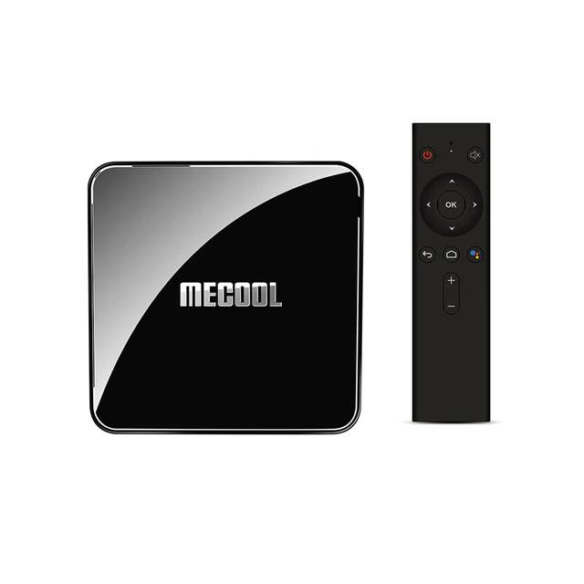 Смарт ТВ приставка MECOOL KM3 4/128Gb TV-приставка медиаплеер Smart TV Box