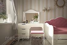 """Современный туалетный столик в спальню """"Италия"""" Лион"""