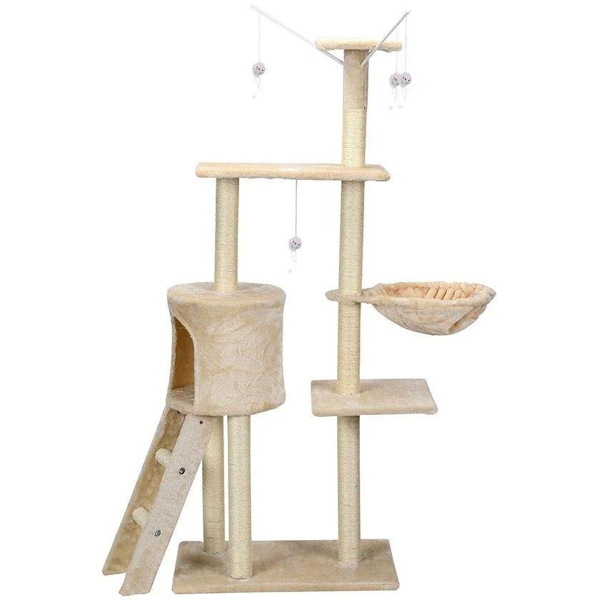 Ігровий комплекс для кішок FunFit Amy 1610 кігтеточка, будиночок, дряпка