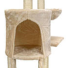 Игровой комплекс для кошек FunFit Amy 1610 когтеточка, домик, дряпка, фото 8