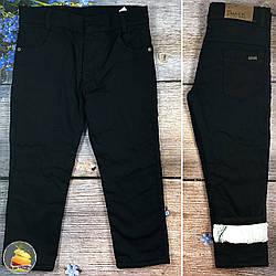 Турецькі чорні джинси на травичці для хлопчика підлітка Розміри: 9,10,11,12 років (20779-2)