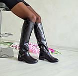 Женские зимние сапоги черная кожа ТМ Bona Mente, фото 4