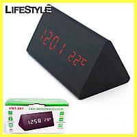 Настольные электронные часы с термометром 861-1