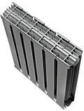 Радиатор биметаллический Royal Thermo PianoForte 500 Silver Satin (8 секций), фото 2