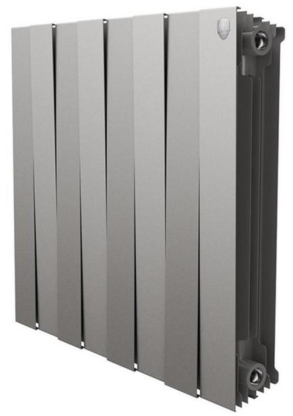Радиатор биметаллический Royal Thermo PianoForte 500 Silver Satin (8 секций)