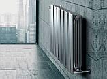 Радиатор биметаллический Royal Thermo PianoForte 500 Silver Satin (8 секций), фото 7