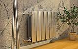 Радиатор биметаллический Royal Thermo PianoForte 500 Silver Satin (8 секций), фото 8