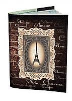 Оригинальная обложка на паспорт, обкладинка для паспорта IdeaX Amoure, искусственная кожа