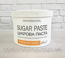 Сахарная паста для шугаринга HARD (плотная) 800 г PREMIUM Elenis