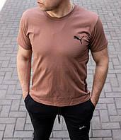 Мужская футболка Puma бежевая , Турция