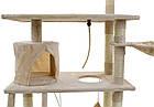 Ігровий комплекс для кішок FunFit CAT TREE 1951 кігтеточка, будиночок, дряпка, фото 5